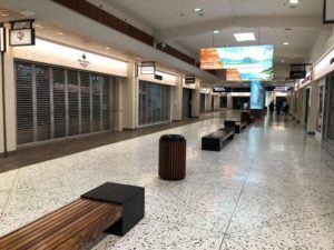 CHRISTIE WILSON / MARCH 30 The Daniel K. Inouye International Airport is seen as empty.