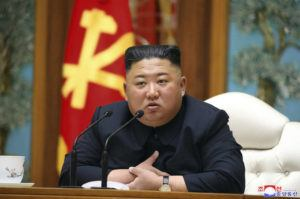 ASSOCIATED PRESS / APRIL 11                                 In this file photo provided by the North Korean government, the country's leader Kim Jong Un attends a politburo meeting of the ruling Workers' Party of Korea in Pyongyang.