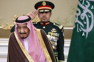 ASSOCIATED PRESS                                 Saudi Arabia's King Salman attends the official welcome ceremony for Russian President Vladimir Putin in Riyadh, Saudi Arabia in 2019. Salman ordered an end to the death penalty for crimes committed by individuals when they were minors, according to a statement today by a top official. The decision comes on the heels of another which orders judges to end the practice of flogging and to issue in its place jail time, fines or community service, bringing to a close one of the kingdom's most controversial forms of public punishment.