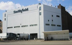 ASSOCIATED PRESS                                 The Smithfield pork processing plant in Sioux Falls, S.D., on April 8. Meat isn't going to disappear from supermarkets because of outbreaks of the coronavirus among workers at U.S. slaughterhouses. But consumers could face less selection and slightly higher prices.