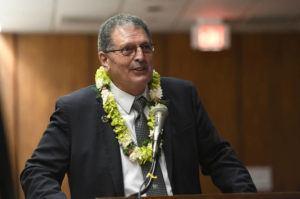 BRUCE ASATO / JAN. 15                                 Maui County Mayor Michael Victorino
