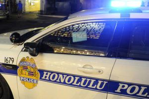 BRUCE ASATO / JANUARY 12, 2018                                 A 33-year-old man at Leahi Beach Park near Diamond Head was stabbed in the chest this afternoon.