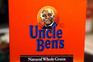 """ASSOCIATED PRESS / JUNE 18                                 The portrait of """"Uncle Ben's"""" is portrayed on a box of rice."""