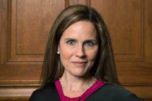 RACHEL MALEHORN, RACHELMALEHORN.SMUGMUG.COM, VIA AP / 2018                                 This image provided by Rachel Malehorn shows Judge Amy Coney Barrett in Milwaukee.