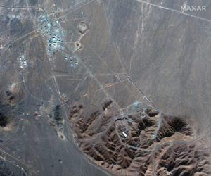 MAXAR TECHNOLOGIES VIA AP This Nov. 4, 2020, file satellite photo shows Iran's Fordo nuclear site. Iran has told international nuclear inspectors it plans to enrich uranium up to 20% at its underground Fordo nuclear facility, a technical step away from weapons-grade levels, as it increases pressure on the West over its tattered atomic deal.
