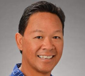 COURTESY HPU                                 Sam Moku is leaving his position as executive director of Athletics at HPU at the end of the month to serve as Mayor Rick Blangiardi's chief of staff.