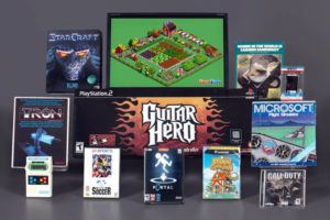 """ASSOCIATED PRESS                                 The 12 finalists for 2021 induction into the Video Game Hall of Fame. Included are: Nintendo's """"Animal Crossing,"""" Infinity Ward/Activision's """"Call of Duty,"""" Zynga's """"FarmVille,"""" """"FIFA International Soccer,"""" Harmonix's """"Guitar Hero,"""" Mattel Electronics' """"Mattel Football,"""" """"Microsoft Flight Simulator,"""" Namco/Atari's """"Pole Position,"""" Blizzard Entertainment's """"StarCraft,"""" Midway's """"Tran,"""" and Broderbund's """"Where in the World is Carmen San Diego?"""""""