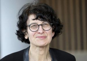 ASSOCIATED PRESS                                 Ozlem Tureci founder of the BioNTech company spoke during an interview with the Associated Press in Berlin, Germany, Thursday.