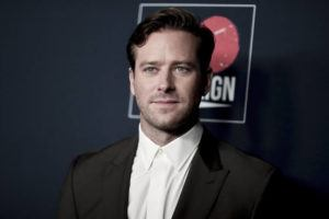 RICHARD SHOTWELL/INVISION/AP / 2019                                 Armie Hammer attends the 13th Annual Go Gala in Los Angeles. Los Angeles police said Thursday, March 18, that they are investigating actor Armie Hammer for sexual assault. His attorney denies the allegation. A police spokesman says Hammer is the main suspect in an incident reported on Feb. 3.