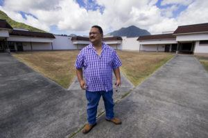 STAR-ADVERTISER / 2017 Mark Patterson, the administrator of the Hawaii Youth Correctional Facility, gives a tour of the facility in 2017.