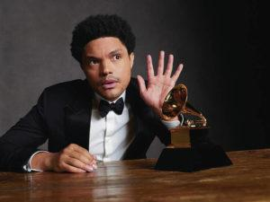 COURTESY CBS                                 Trevor Noah will host today's Grammy Awards in Los Angeles.