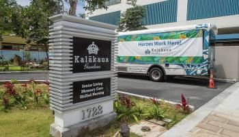 Hugs are welcome again at Hawaii's nursing homes