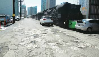 Kakaako streets remain in disrepair after judge rules ownership away from two brothers