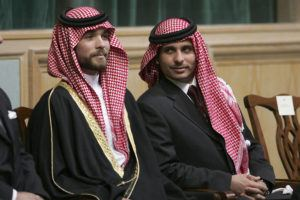 ASSOCIATED PRESS                                 Prince Hamza Bin Al-Hussein, right, and Prince Hashem Bin Al-Hussein, left, brothers King Abdullah II of Jordan, attend the opening of the parliament in Amman, Jordan, in 2006. Prince Hamza, the half-brother of Jordan's King Abdullah II, said he has been placed under house arrest. in a videotaped statement late Saturday.