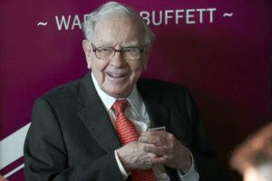 ASSOCIATED PRESS                                 Warren Buffett, Chairman and CEO of Berkshire Hathaway, smiled as he played bridge, in May 2019, following the annual Berkshire Hathaway shareholders meeting in Omaha, Neb. A multitude of big-name businesses and high-profile individuals, including Buffett, Amazon and Facebook are showing their support for voters' rights.