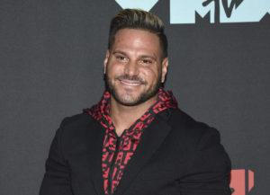"""ASSOCIATED PRESS / 2019                                 """"Jersey Shore"""" cast member Ronnie Ortiz-Magro at the MTV Video Music Awards in Newark, N.J."""