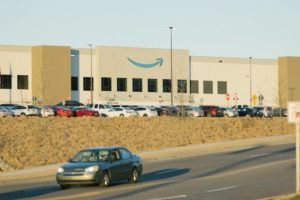 NEW YORK TIMES / MARCH 5                                 An Amazon warehouse in Bessemer, Ala.