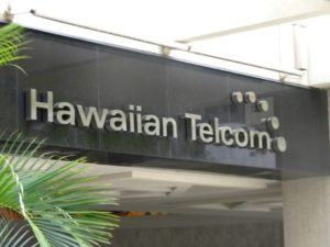 Hawaiian Telcom.