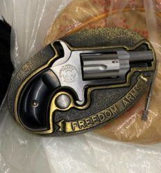 COURTESY TSA                                 Transportation Security Administration officers on Wednesday discovered a .22-caliber handgun in the carry-on luggage of a departing passenger at the Daniel K. Inouye International Airport.