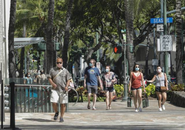 Hawaii reports 1 new coronavirus-related death and 64 additional infections