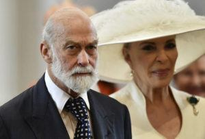 ASSOCIATED PRESS                                 Britain's Prince Michael of Kent and Princess Michael of Kent arrive at St Paul's Cathedral in London in 2016. An investigative report by British media published today says that Queen Elizabeth II's cousin, Prince Michael of Kent, was willing to use his royal status for personal profit and to seek favors from Russia's President Vladimir Putin. The undercover investigation by the Sunday Times and Channel 4 saw reporters posing as investors of a fake South Korean gold company.