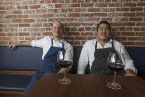 CINDY ELLEN RUSSELL / 2017                                 Chefs Anthony Rush and Chris Kajioka.