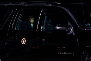 NEW YORK TIMES / 2020                                 Former President Donald Trump arrives at a campaign event in Montoursville, Penn.