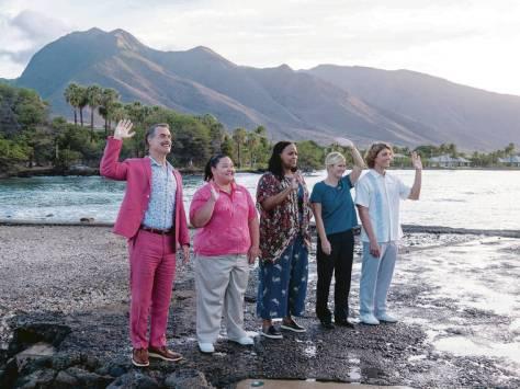 De cast van The White Lotus HBO recensie op Streamz