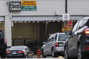 ASSOCIATED PRESS                                 Vehicles entered the Detroit-Windsor Tunnel in Detroit, in March 2020, to travel to Canada. Canada announced today it will begin letting fully vaccinated U.S. citizens into Canada on Aug. 9, and those from the rest of the world on Sept. 7.