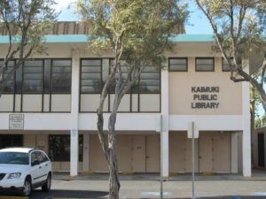 COURTESY HAWAII STATE PUBLIC LIBRARY SYSTEM                                 The Kaimuki Public Library is closed today for cleaning after an employee tested positive for COVID-19.