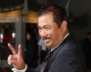 """ASSOCIATED PRESS / 2003                                 Japanese actor Sonny Chiba arrives for the premiere of the film """"Kill Bill: Volume 1"""" at the Grauman's Chinese Theatre in the Hollywood section of Los Angeles. Chiba, known in Japan as Shinichi Chiba, who wowed the world with his martial arts skills, acting in more than 100 films, including """"Kill Bill,"""" has died late Thursday, Aug. 19. He was 82."""