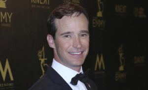 INVISION / AP                                 Mike Richards poses in the press room at the 45th annual Daytime Emmy Awards in 2018.
