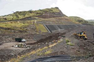 CRAIG T. KOJIMA / 2014                                 The Waimanalo Gulch Sanitary Landfill is slated to shut down in March 2028, and the city must select a new location by the end of December 2022.