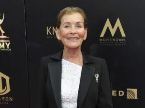 ASSOCIATED PRESS                                 Judge Judy Sheindlin arrives at the 46th annual Daytime Emmy Awards in Pasadena, Calif., on May 5, 2019.