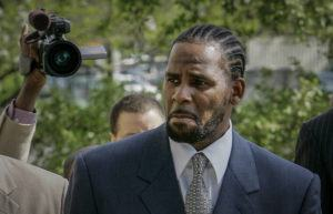 """ASSOCIATED PRESS                                 R. Kelly arrived for the first day of jury selection, in May 2008, in his child pornography trial at the Cook County Criminal Courthouse in Chicago. Kelly, the R&B superstar known for his anthem """"I Believe I Can Fly,"""" was convicted today in a sex trafficking trial after decades of avoiding criminal responsibility for numerous allegations of misconduct with young women and children."""