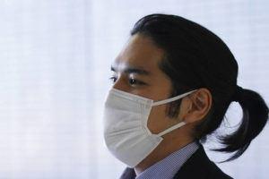 ASSOCIATED PRESS                                 Kei Komuro, the fiancé of Japan's Princess Mako, arrived at Narita international airport in Narita, near Tokyo, Monday, upon returning to Japan from the United States.