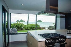 CRAIG T. KOJIMA/CKOJIMA@STARADVERTISER.COM                                 Vacation rental at 1234 Mokulua Dr. in Lanikai.