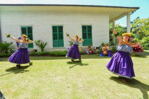 COURTESY MOANALUA GARDENS FOUNDATION                                 The Prince Lot Hula Festival will take place again virtually this year, from 7 to 9 p.m. Oct. 28. Last year's festival was also televised. Halau Hula 'O Kaleipuaimilia under the direction of kumu hula Makalapua Bernard performed at the virtual festival last year.