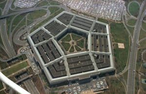 ASSOCIATED PRESS FILES                                 The Pentagon building, headquarters of the United States Department of Defense, in Washington, D.C.