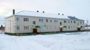 новый дом в центре фотографии старая майна ульяновской области