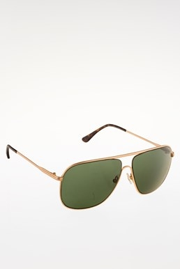 FT0451 Dominic Gold Metallic Sunglasses