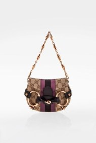 Tom Ford Mini GG Canvas Horsebit Clutch