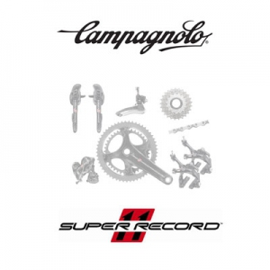 Campagnolo Super Record groupset non-disc 2/11-speed