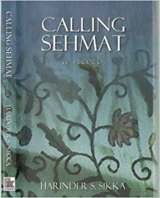 Harinder's Debut Novel 'Calling Sehmat'
