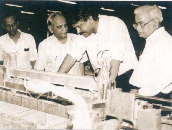 Ajay Piramal At Morarji Mills In 1980s