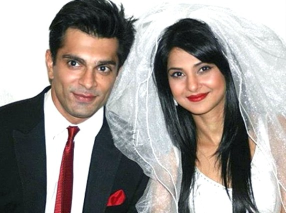 Jennifer Winget and Karan Singh Grover Marriage Picture