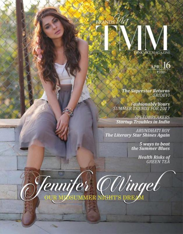 Jennifer Winget on TMM Coverpage