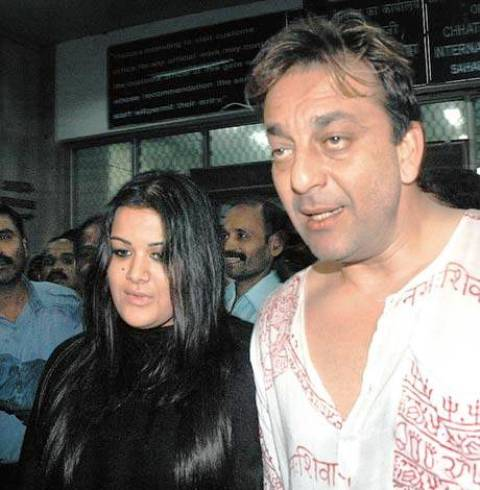 Sanjay Dutt With His Daughter Trishala