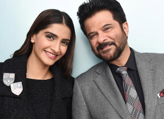 Anil Kapoor with daughter Sonam Kapoor