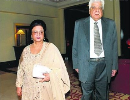 Anil Kapoor's Parents, Late Surinder kapoor and Nirmal Kapoor